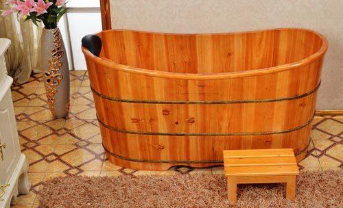Bán bồn tắm gỗ cũ như mới tại Bon Tam Go Ha Noi