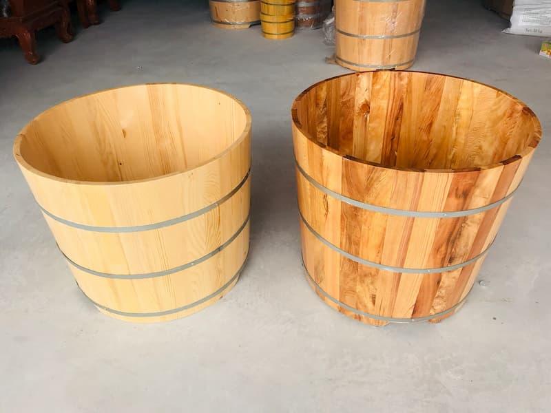 Tại sao nên mua thùng tắm gỗ thanh lý?