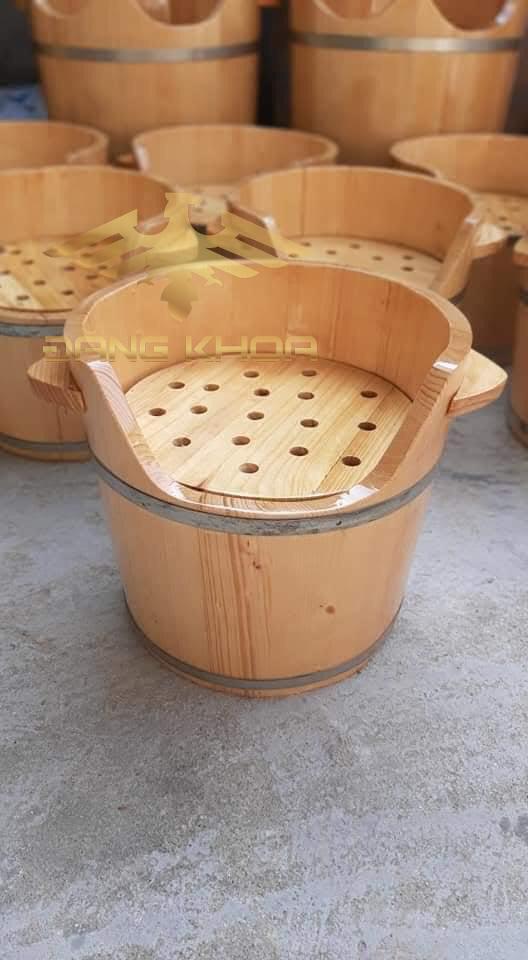 Lợi ích khi sử dụng thùng gỗ xông hơi đầu