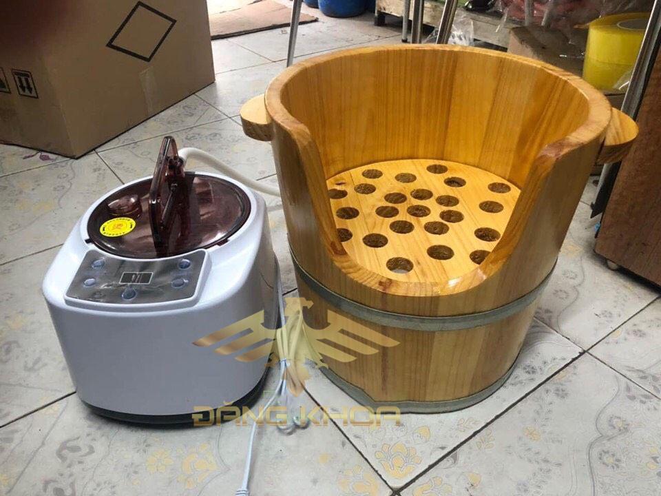 lựa chọn thùng gỗ xông hơi đầu