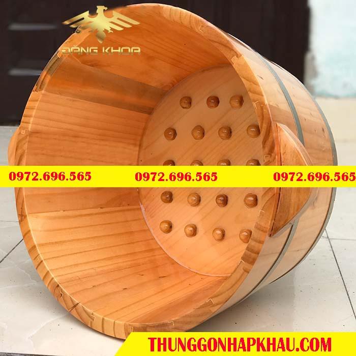 Chậu gỗ ngâm chân tại Hà Nội