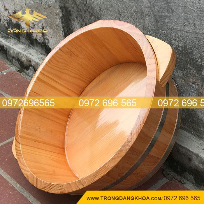 Chậu gỗ ngâm chân tại Hồ Chí Minh