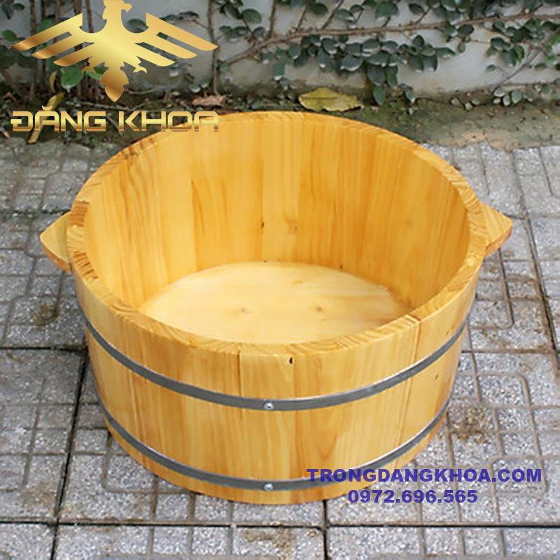 Bán chậu gỗ ngâm chân tại Hà Nội