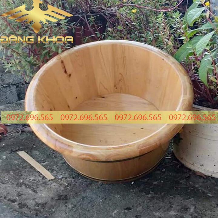 Phương pháp vệ sinh chậu gỗ ngâm chân